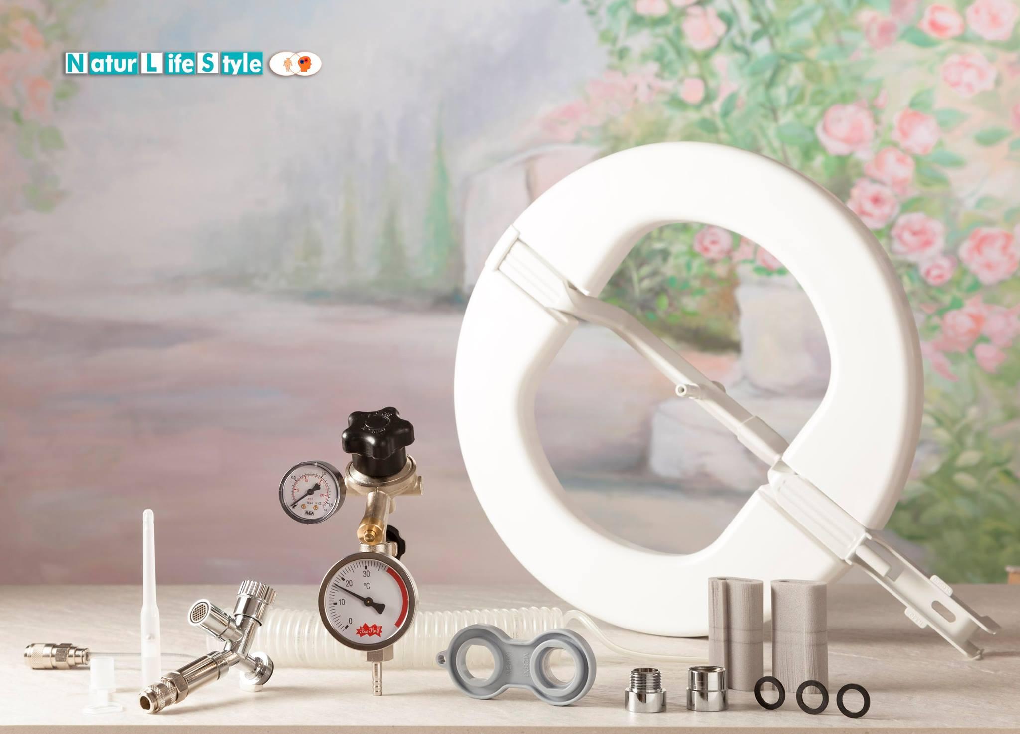 idrocolonterapia domestica dispositivo